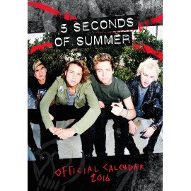 5 Seconds Of Summer: Calendario 2016 Ufficiale