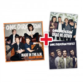 PREORDINE Bundle - One Direction Made in the A.M. album, versione DELUXE + singoli Drag Me Down e Perfect