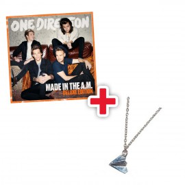 PREORDINE Bundle - One Direction Made in the A.M. album, versione DELUXE + Collana Aereoplano