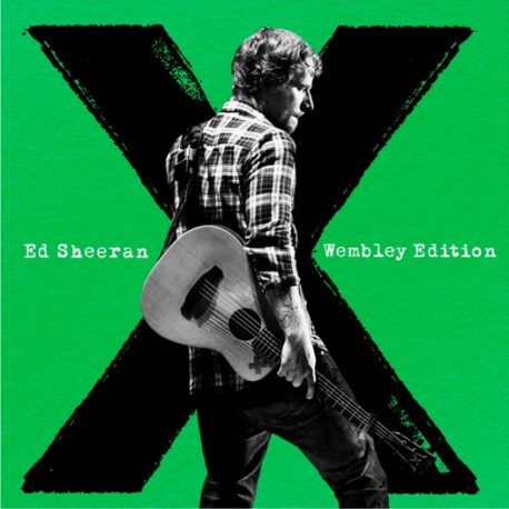 Ed Sheeran album X Wembley Edition CD+DVD