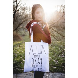 Maybe Okay Will Be Our Always - Shopper Bag Colpa Delle Stelle