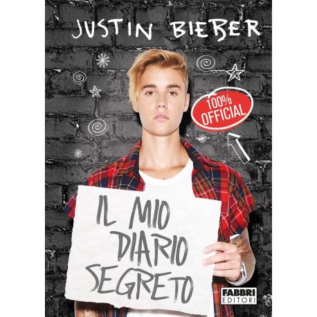 """Libro Justin Bieber """"Il mio diario segreto"""""""