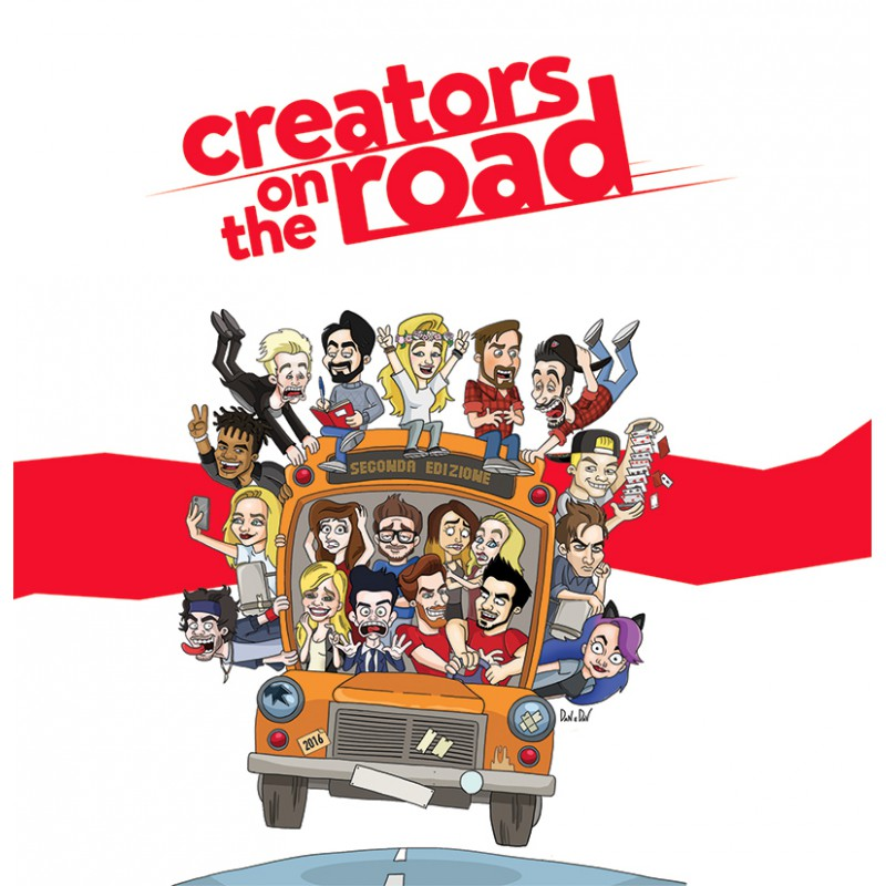 Cotr creators on the road la compilation cd autografato Compilation c
