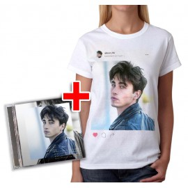 "Bundle CD RIKI ""Perdo le parole"" + T-shirt Instagram"
