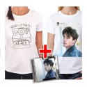 "Bundle CD RIKI ""Perdo le parole"" + T-shirt Polaroid + T-shirt Instagram"