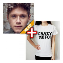 "Bundle CD Niall Horan - Flicker + Tshirt ""Crazy Mofos"""