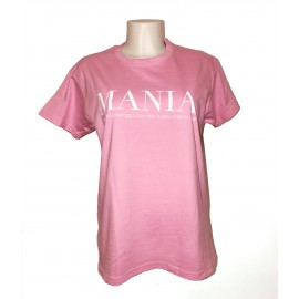 "RIKI_MANIA - T-shirt rosa ""Mania"""