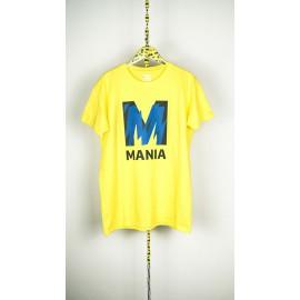 "T-shirt gialla ""Mania"""