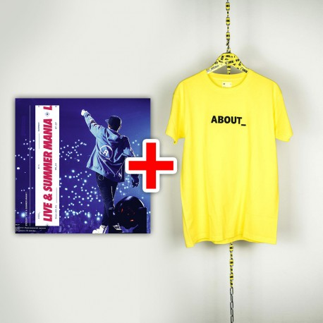 BUNDLE CD RIKI Live & Summer Mania e T-shirt About_