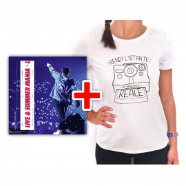 BUNDLE CD RIKI Live & Summer Mania e T-shirt Polaroid