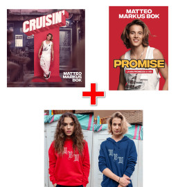 BUNDLE Felpa MBM + Libro Promise + CD Cruisin'