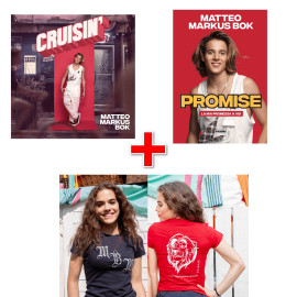BUNDLE T-Shirt MBM + Libro Promise + CD Cruisin'