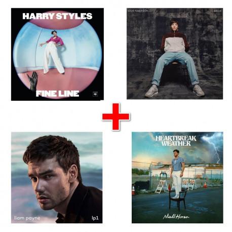 Bundle CD Harry, Liam, Louis e Niall