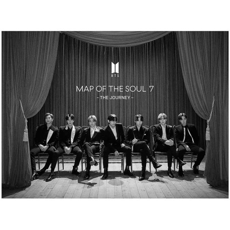 CD BTS - Map Of The Soul 7 ~ The Journey ~ versione LIMITED EDITION A
