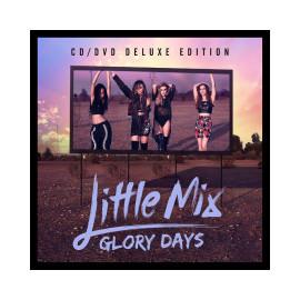 Little Mix Glory Days album versione deluxe CD+DVD