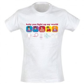 One Direction T-shirt Baby You Light Up My World - Taglia XL