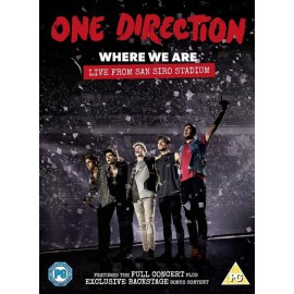 DVD: Where We Are - Live from San Siro Stadium
