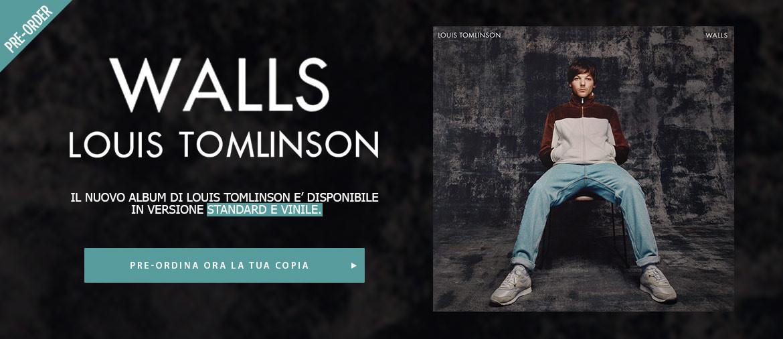 Pre-ordina ora l'album di debutto di Louis Tomlinson e ricevi un regalo!