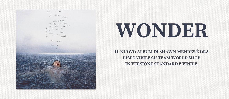 Pre-ordina ora il nuovo album di Shawn Mendes - Wonder