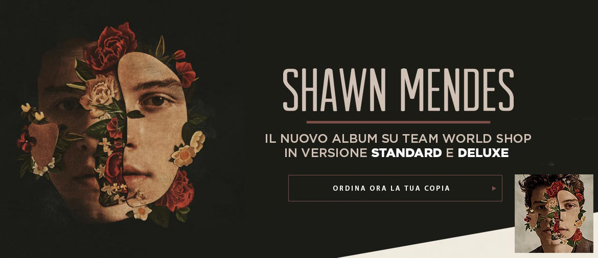 Shawn Mendes - il nuovo album su Team World Shop
