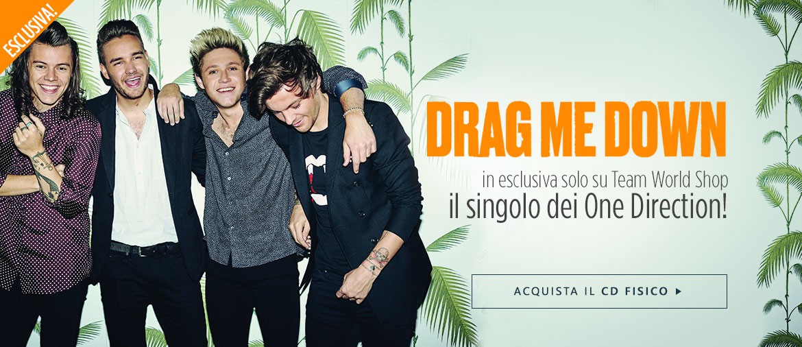 One Direction - singolo Drag Me Down
