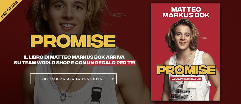 Pre-ordina ora il nuovo libro di Matteo Markus Bok - PROMISE