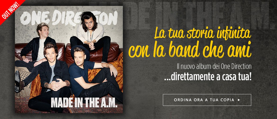 1D - Acquista ora Made In The A.M.