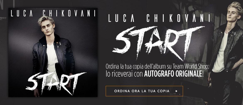 Ordina ora START di Luca Chikovani con autografo e dedica personalizzata