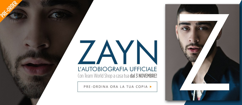 Ordina ora l'autobiografia UFFICIALE di ZAYN!