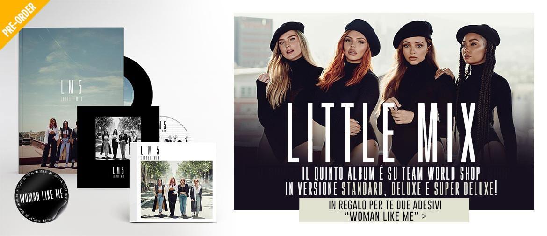 Ordina ora LM5 - il nuovo album delle Little Mix