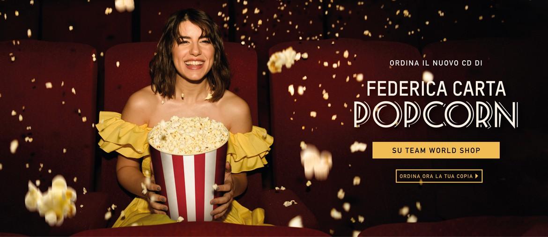 Pre-ordina ora Popcorn per avere la possibilità di andare al cinema con Federica!