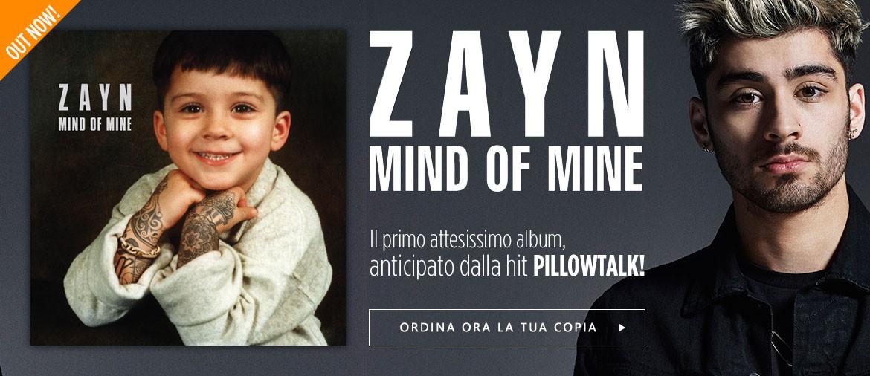 Acquista ora il primo album di ZAYN
