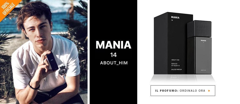 Acquista ora MANIA 14 - il profumo ufficiale di RIKI