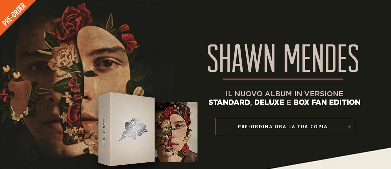 Shawn Mendes - il nuovo album su Team World Shop