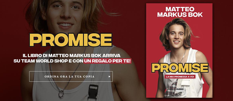 Ordina ora il nuovo libro di Matteo Markus Bok - PROMISE